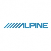 alpine logo vector