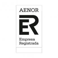 Aenor Black Logo Vector Download