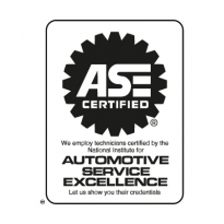 ase certified logo vector