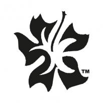 Aloha Style Black Logo Vector Download