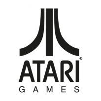 atari games black logo vector