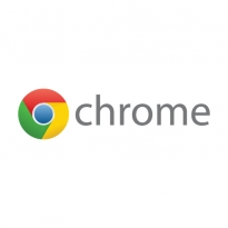 Google Chrome Wordmark Logo Vector Download