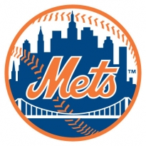 new york mets team logo vector